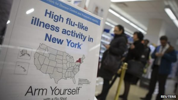 Gripa u New Yorku